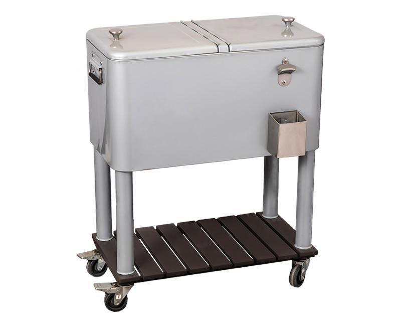户外野餐4轮露台啤酒冷藏车
